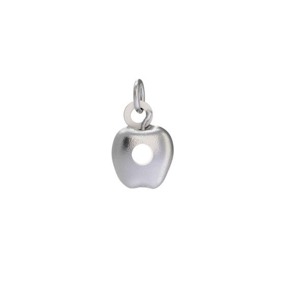 Sterling Silver Very Hungry Caterpillar Apple Charm