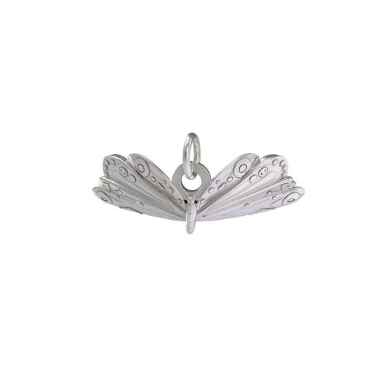 Sterling Silver Very Hungry Caterpillar Butterfly Charm