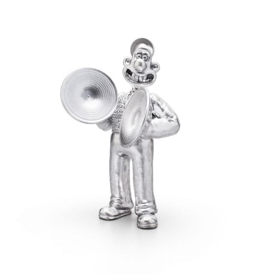 Sterling Silver Musical Marvels Wallace Charm