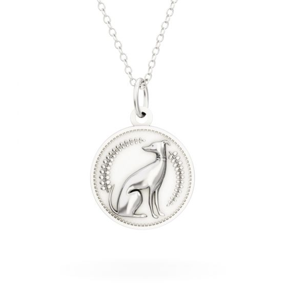 Licensed to Charm - Sterling Silver Enchanted Animals Dog Necklace Set