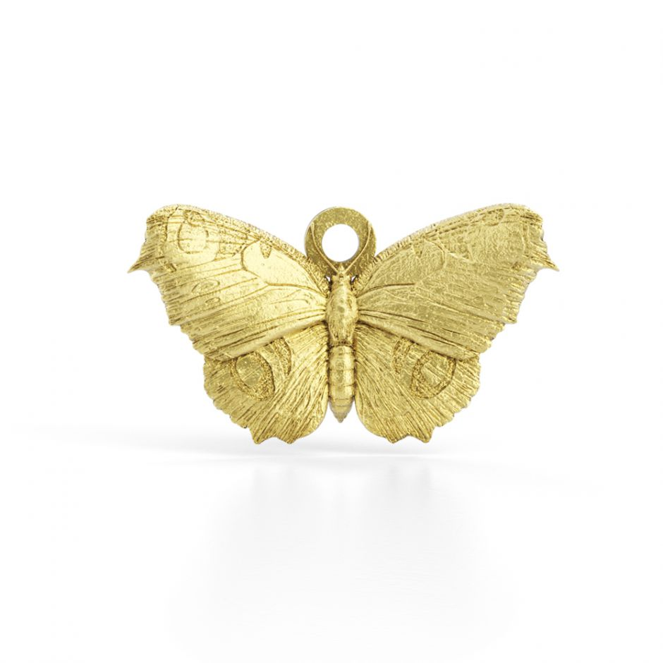Watership Down - Gold Vermeil Butterfly Charm