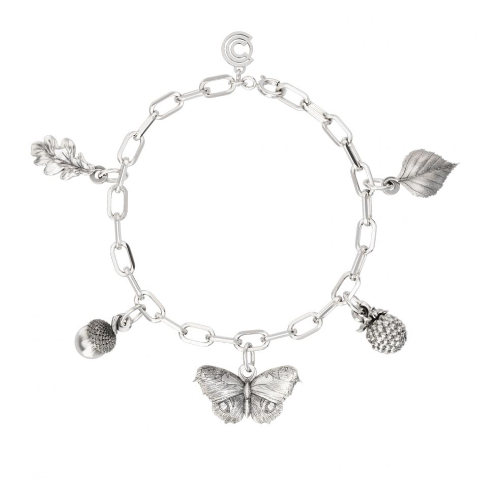 Watership Down - Sterling Silver Complete Charm Bracelet