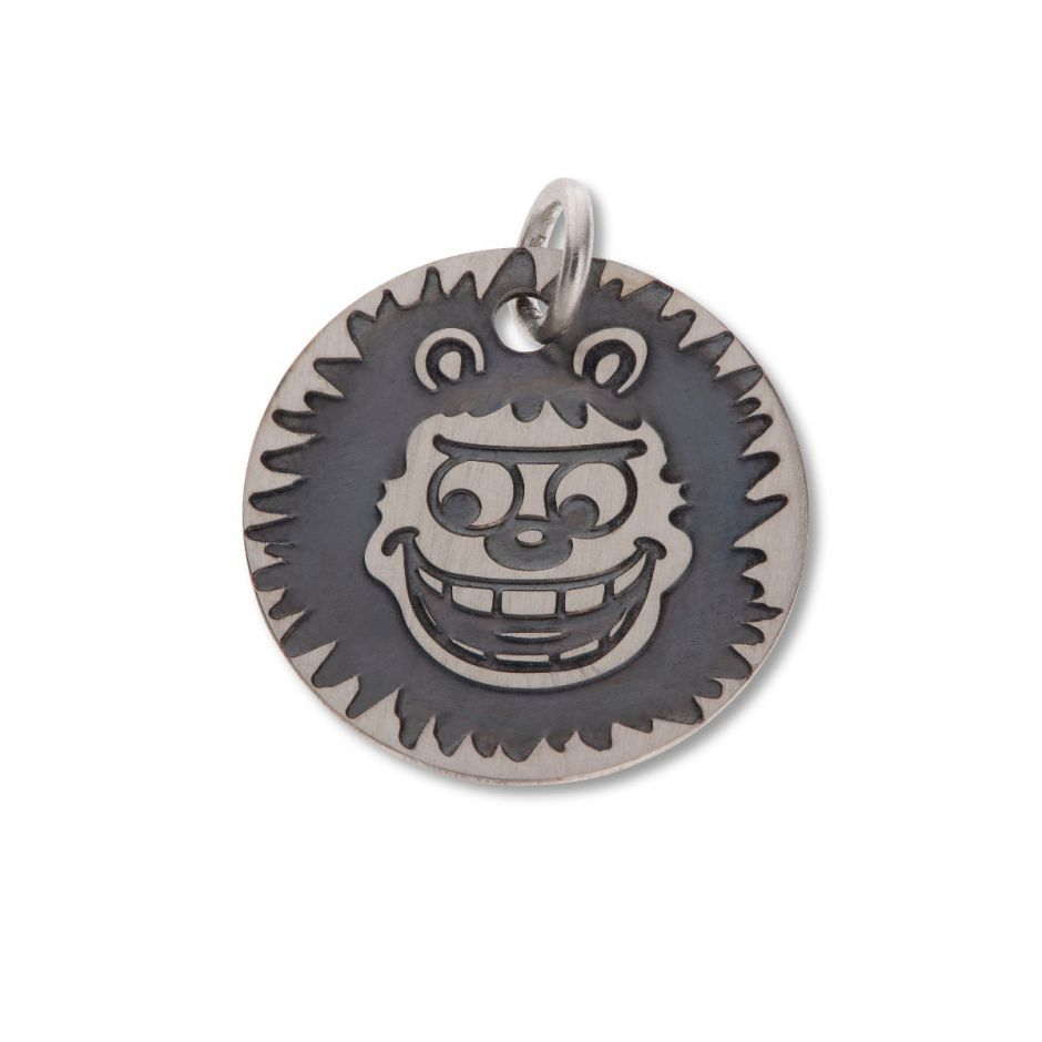 Beano Round Mini Tag - Gnasher