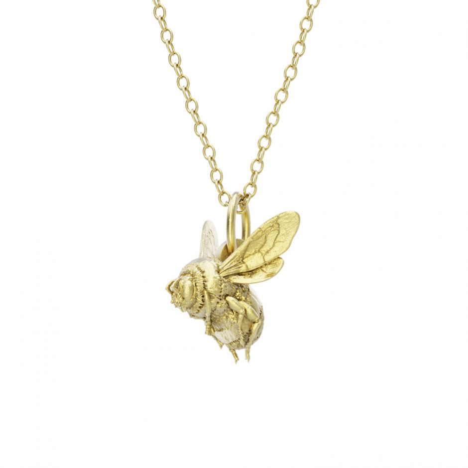 Watership Down - Gold Vermeil Bee Necklace Set