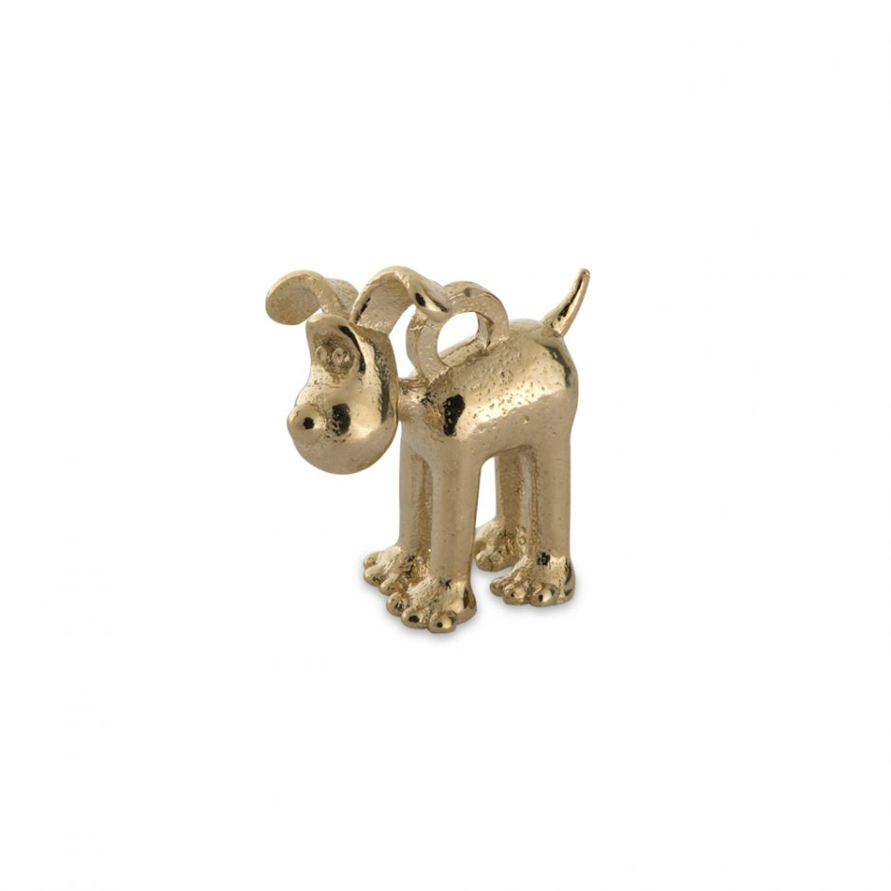 18ct Gold Vermeil Standing Gromit Charm