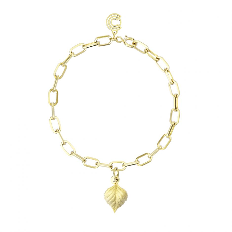 Watership Down - Gold Vermeil Single Charm Bracelet
