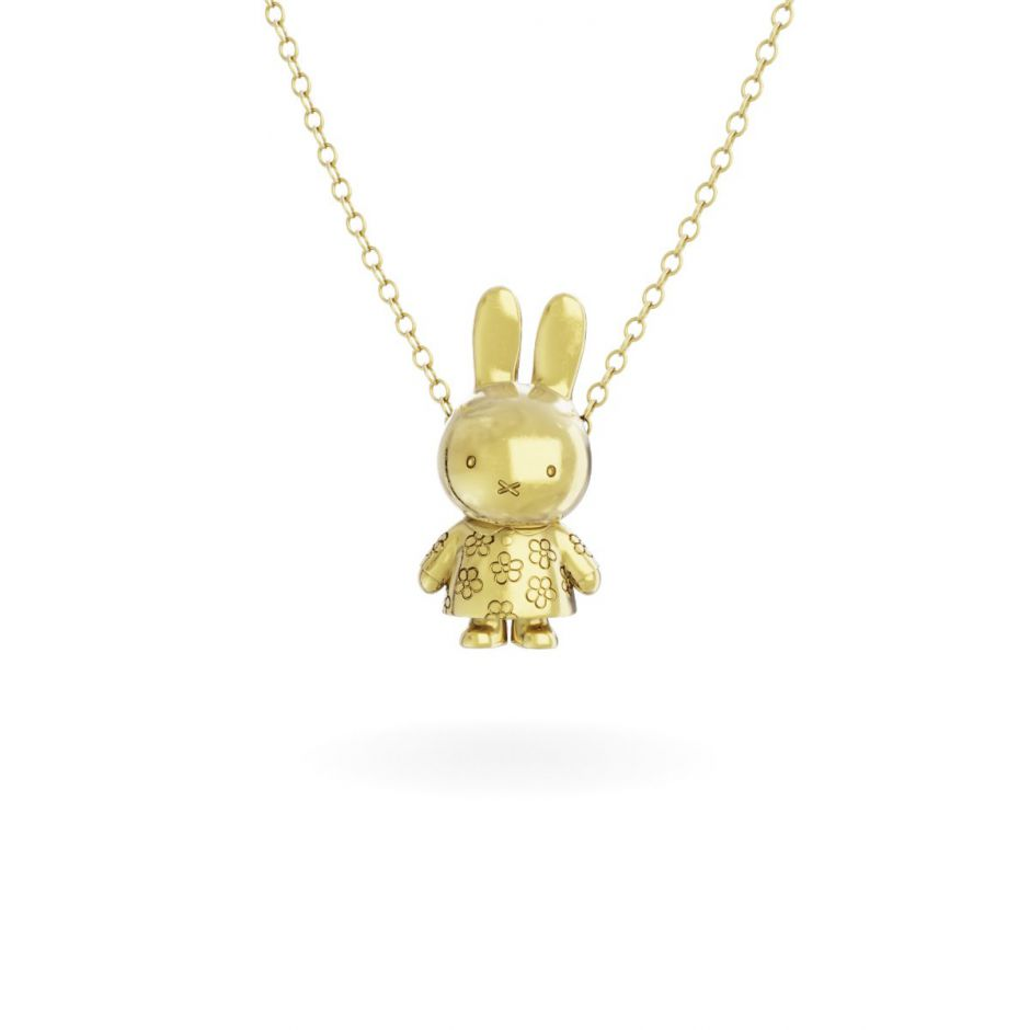 Miffy - 18ct Gold Vermeil Flower Body Necklace Set