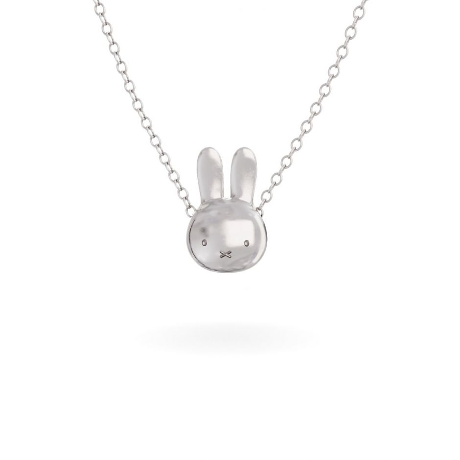 Miffy - Sterling Silver Medium Head Necklace Set