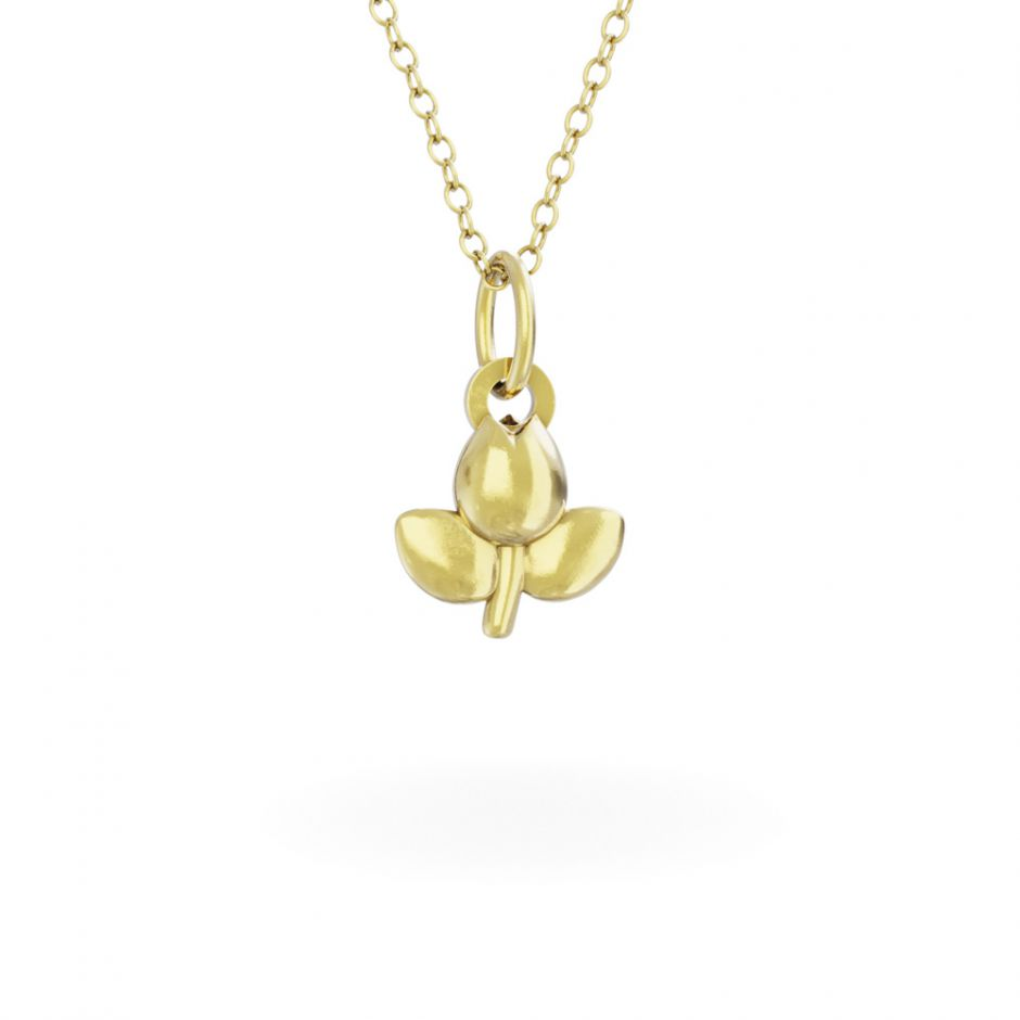 Miffy - 18ct Gold Vermeil Tulip Necklace Set