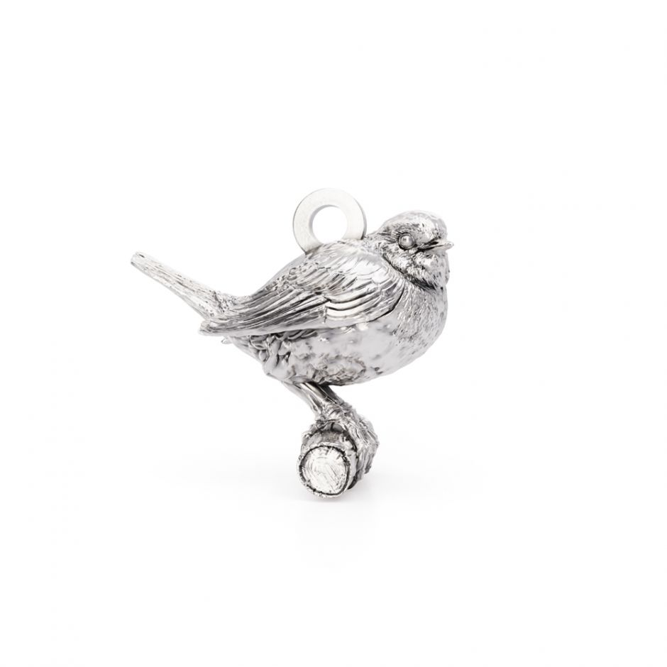 Licensed to Charm - Sterling Silver Robin Charm