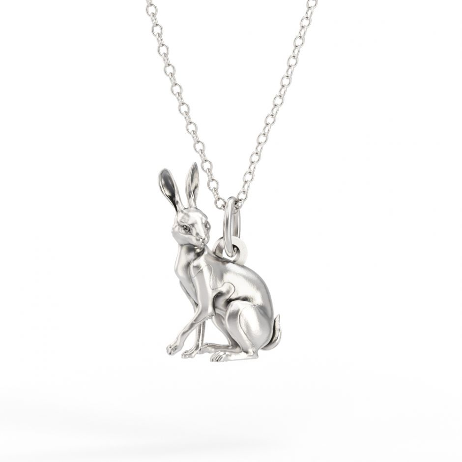 Watership Down - Sterling Silver Clover Necklace Set