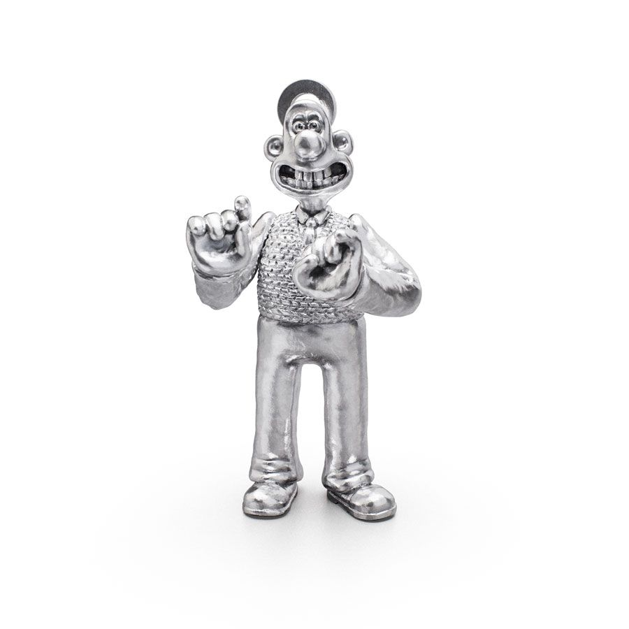 Sterling Silver Standing Wallace Charm