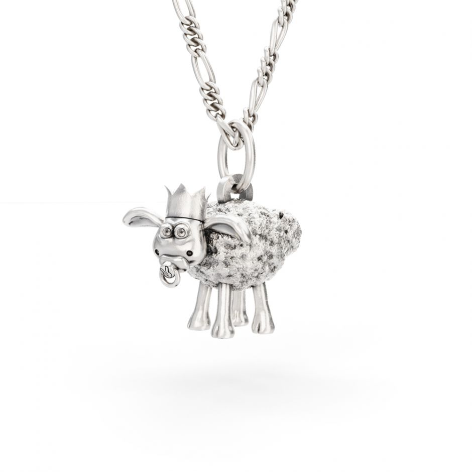 Shaun The Sheep - Christmas Timmy Necklace Set