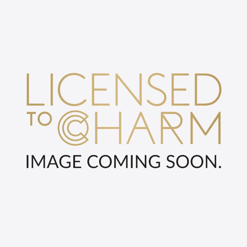 9ct Gold High Line Bar Stud Earrings